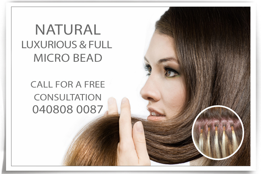 Weave Hair Extensions Melbourne Micro Bead Extensions